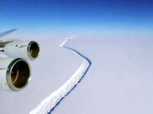 Antarctica Larsen C Ice Crack