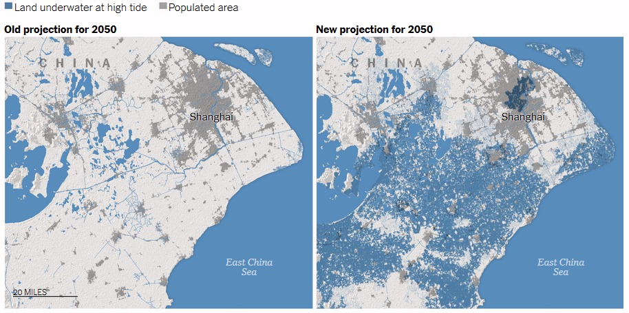 New Sea Level Rise Forecast for China